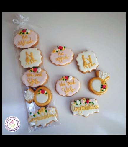 Cookies - Engagement Ring & Proposal - Minis