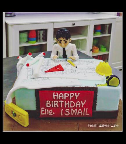 Engineer Themed Cake 2
