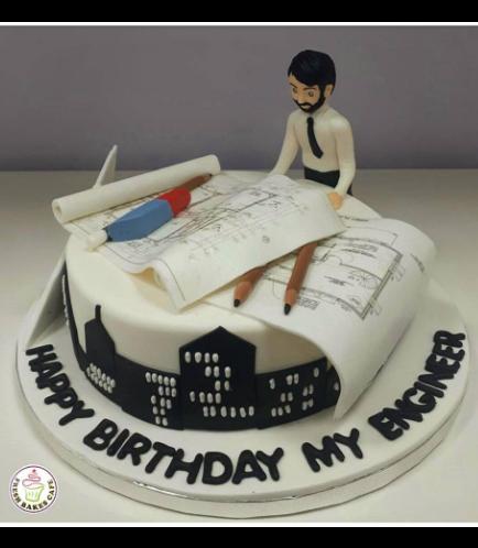 Engineer Themed Cake 3