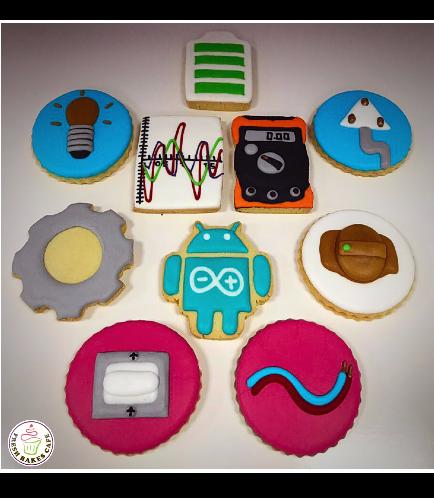 Engineer Themed Cookies