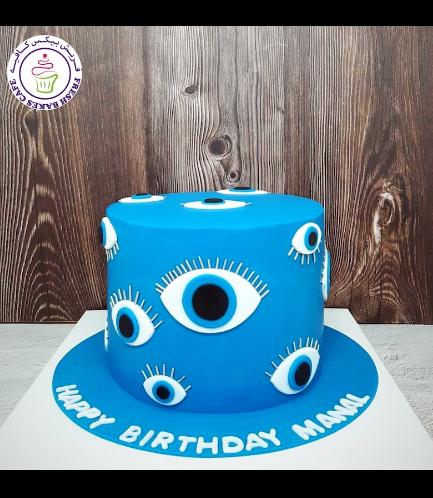 Evil Eye Themed Cake