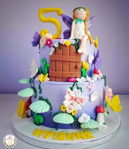 Fairy Themed Cake 01a