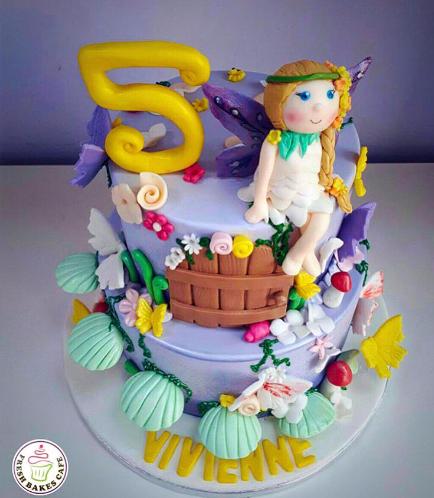 Fairy Themed Cake 01b