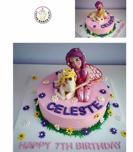 Fairy Themed Cake 02