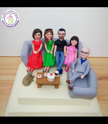 Family Themed Cake