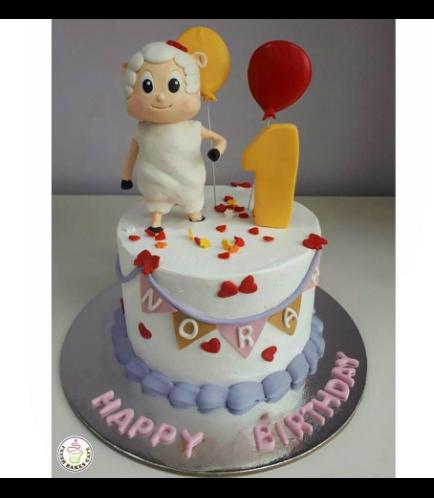 Farmees Themed Cake 01