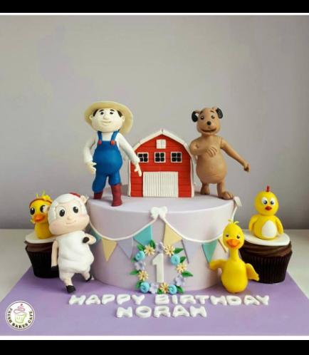 Farmees Themed Cake 02