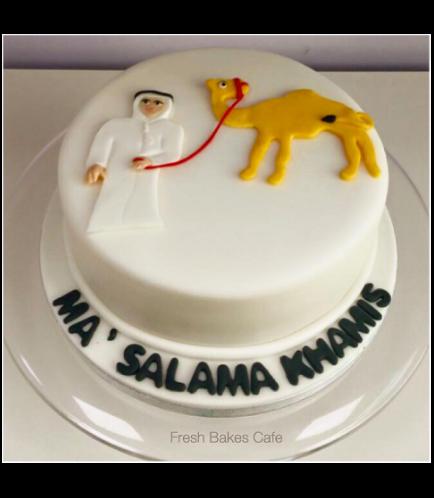 Farmer Themed Cake