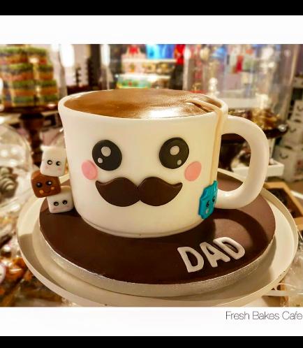 Cake - Mug - 3D Cake - Tea