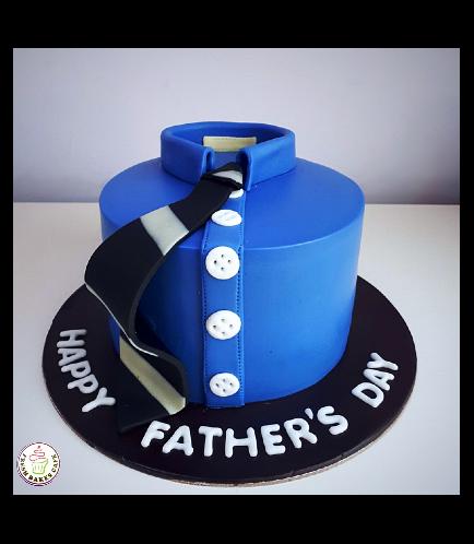 Cake - Shirt & Tie - Round