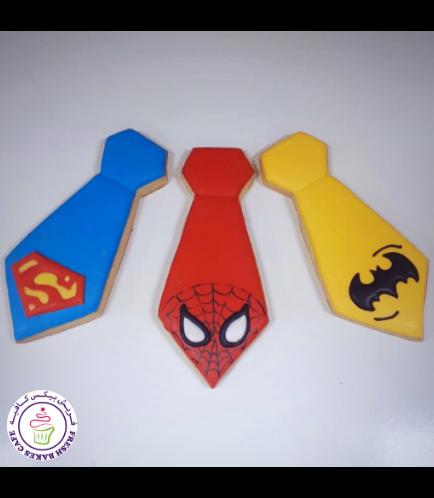 Cookies - Ties - Superheroes