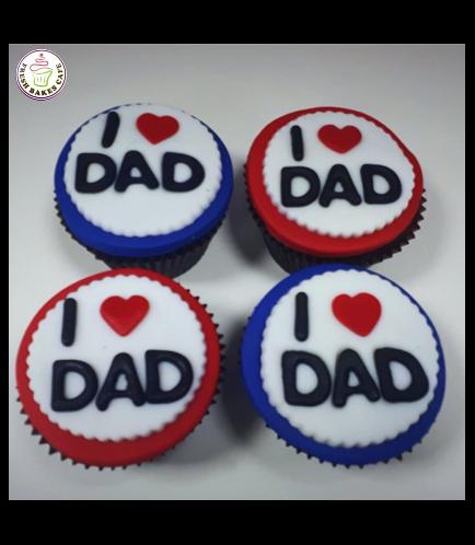 Cupcakes - I Love Dad