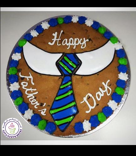 Cookie Cake  - Chocolate Chip Cookie Cake 01