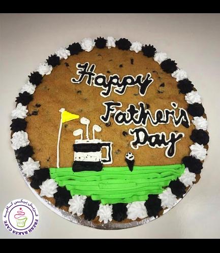 Cookie Cake  - Chocolate Chip Cookie Cake 02