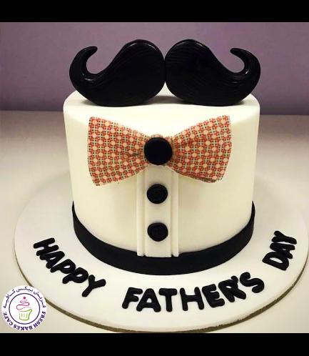 Cake - Mustache & Bow Tie