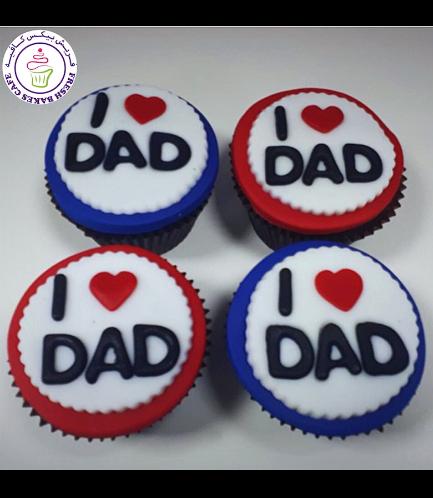 Cupcakes - I Love Dad 01