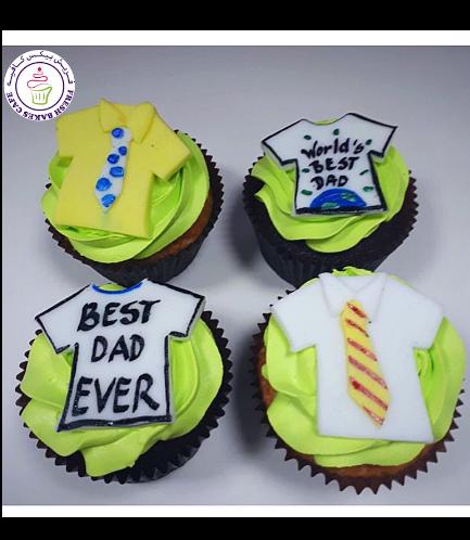 Cupcakes - Shirt-Tie & Best Dad