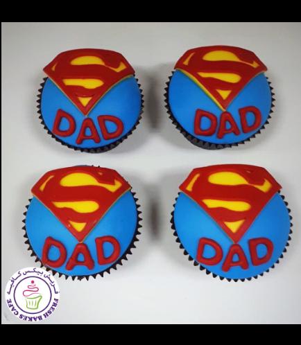 Cupcakes - Super Dad