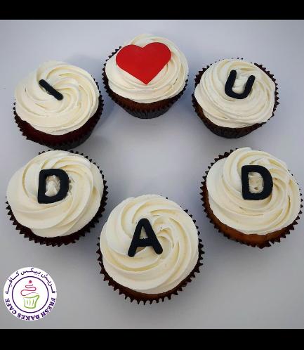Cupcakes - I Love Dad 02