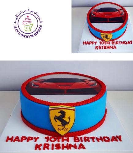 Car Themed Cake 01