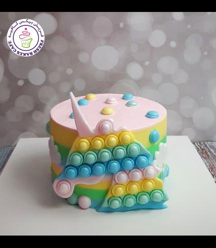 Cake - Fidget Toy - 1 Tier