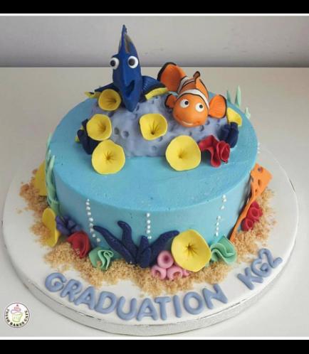 Finding Dori/Nemo Themed Cake 05