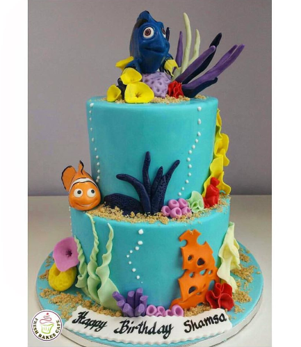 Cake - 3D Cake Toppers - 2 Tier
