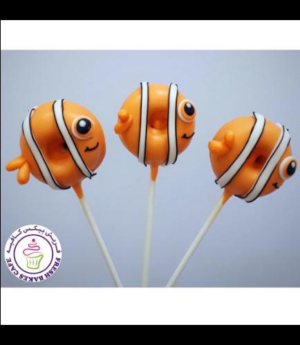 Finding Dory/Nemo Themed Donut Pops