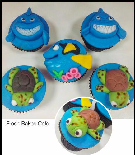 Finding Dori/Nemo Themed Cupcakes 01