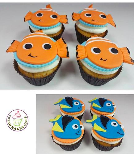 Finding Dori/Nemo Themed Cupcakes 02