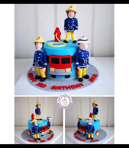 Fireman Sam Themed Cake 02