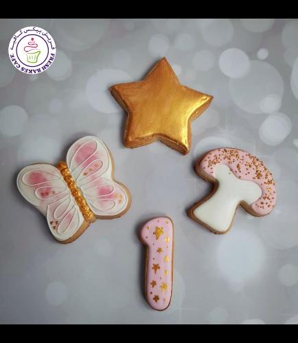 Cookies - Butterfly, Star, & Mushroom