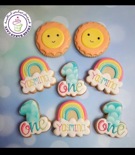 Cookies - Rainbow & Sun