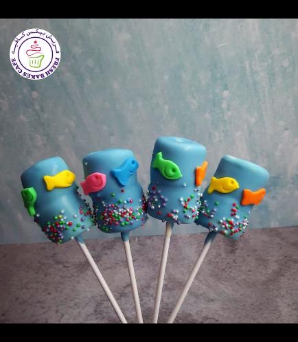 Fish Themed Marshmallow Pops 02