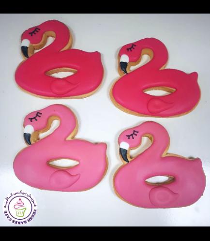 Flamingo Themed Cookies - Flamingo Float