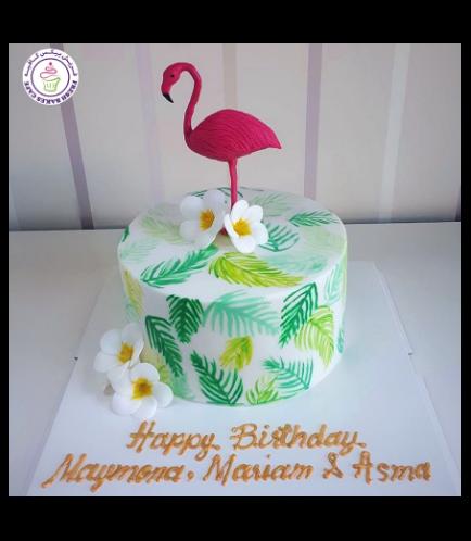 Flamingo Themed Cake 23