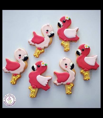 Flamingo Themed Cookies 4
