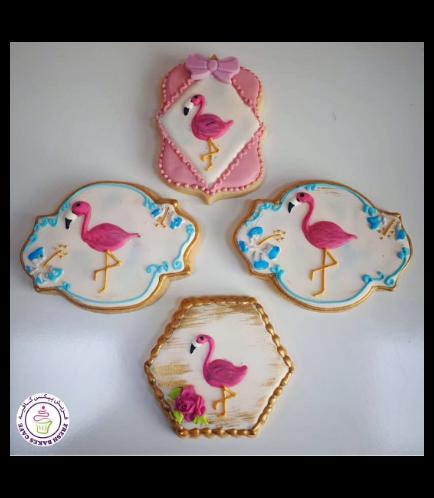 Flamingo Themed Cookies 06