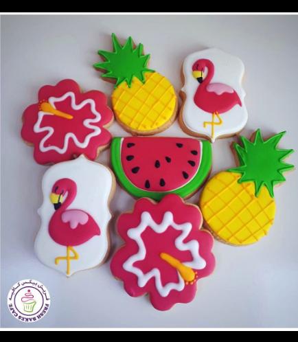 Flamingo Themed Cookies 08
