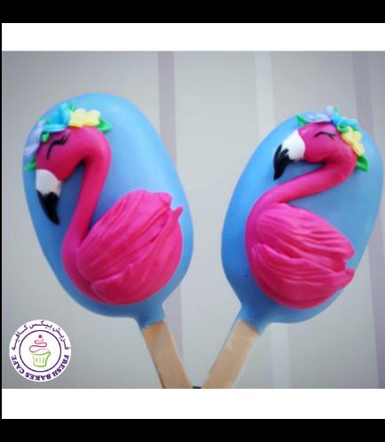 Flamingo Themed Popsicakes 02