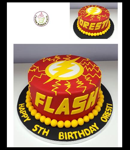 Flash Themed Cake 03