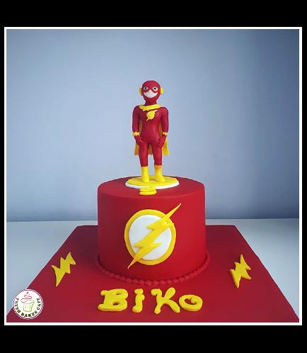 Flash Themed Cake 04