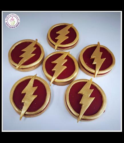 Flash Themed Cookies - Logo
