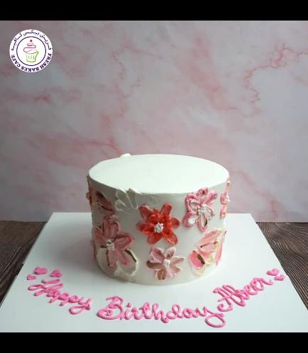 Cake - Flowers - Cream Piping 07