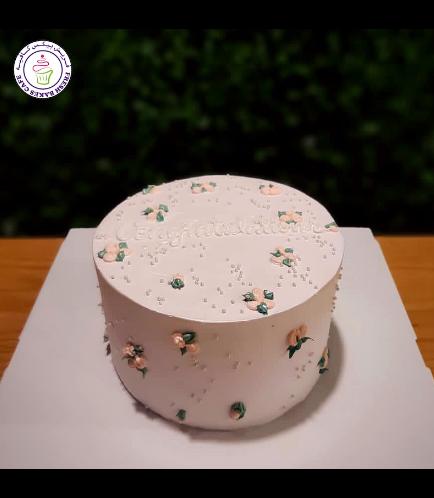 Cake - Roses - Cream Piping