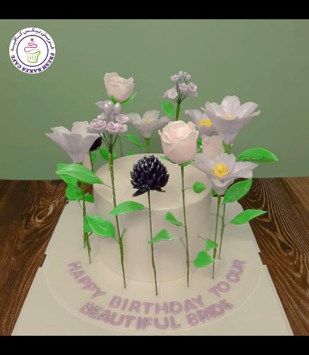 Cake - Flowers on Sticks 03