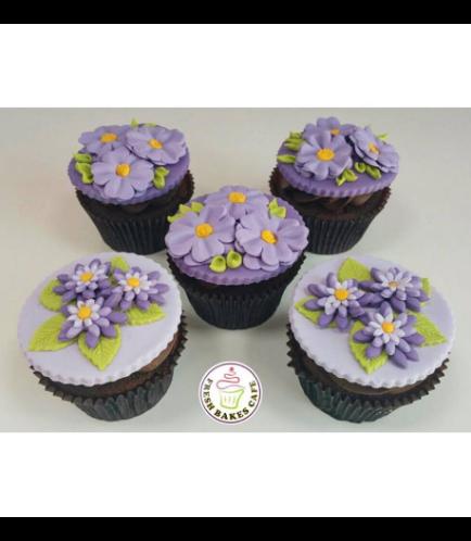 Cupcakes - Flowers 01