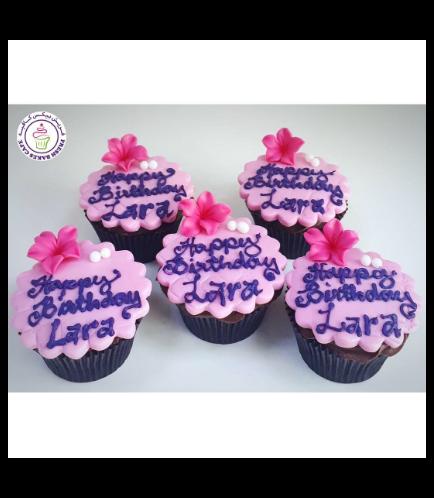 Cupcakes - Flowers 05
