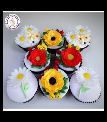 Cupcakes - Flowers 06b