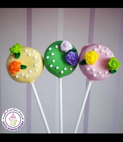 Donut Pops - Flowers 02